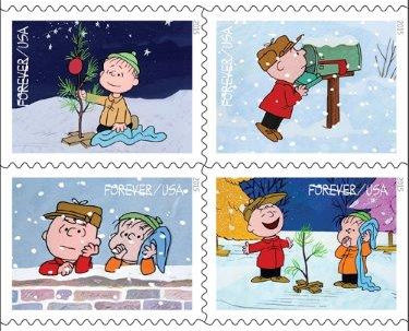 Us postal holiday stamps