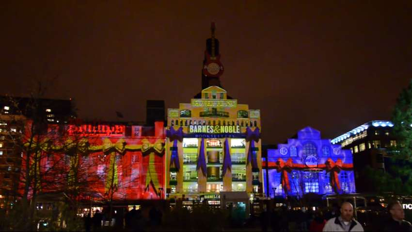 Awesome A Stunning 4D Holiday Light Show At Baltimoreu0027s Inner Harbor Awesome Design