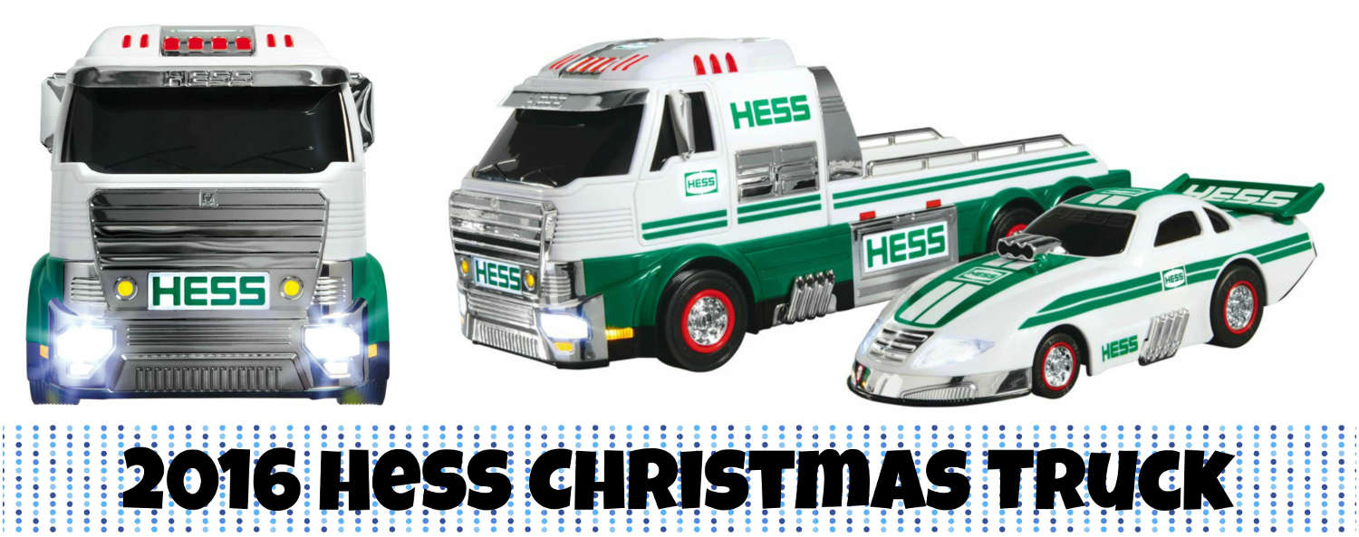 The Hess Toy Truck for Christmas 2016 is a Drag Racer with Pickup ...