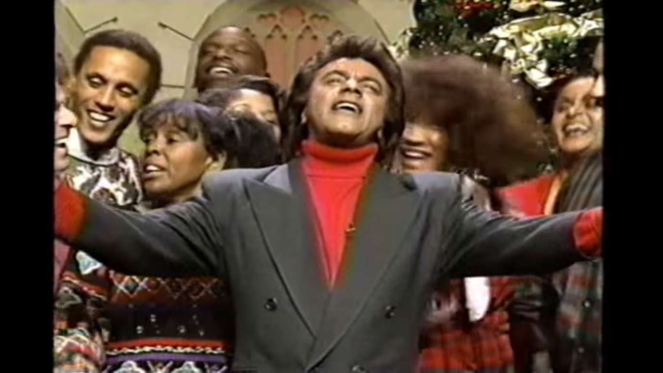 Johnny Mathis 1993 TV Special - It\'s the Hap-Happiest Christmas ...
