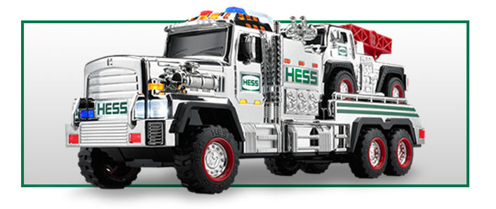 limited silver edition hess toy truck